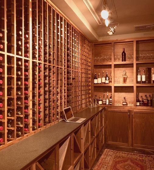Four Seasons Mod Wine Cave